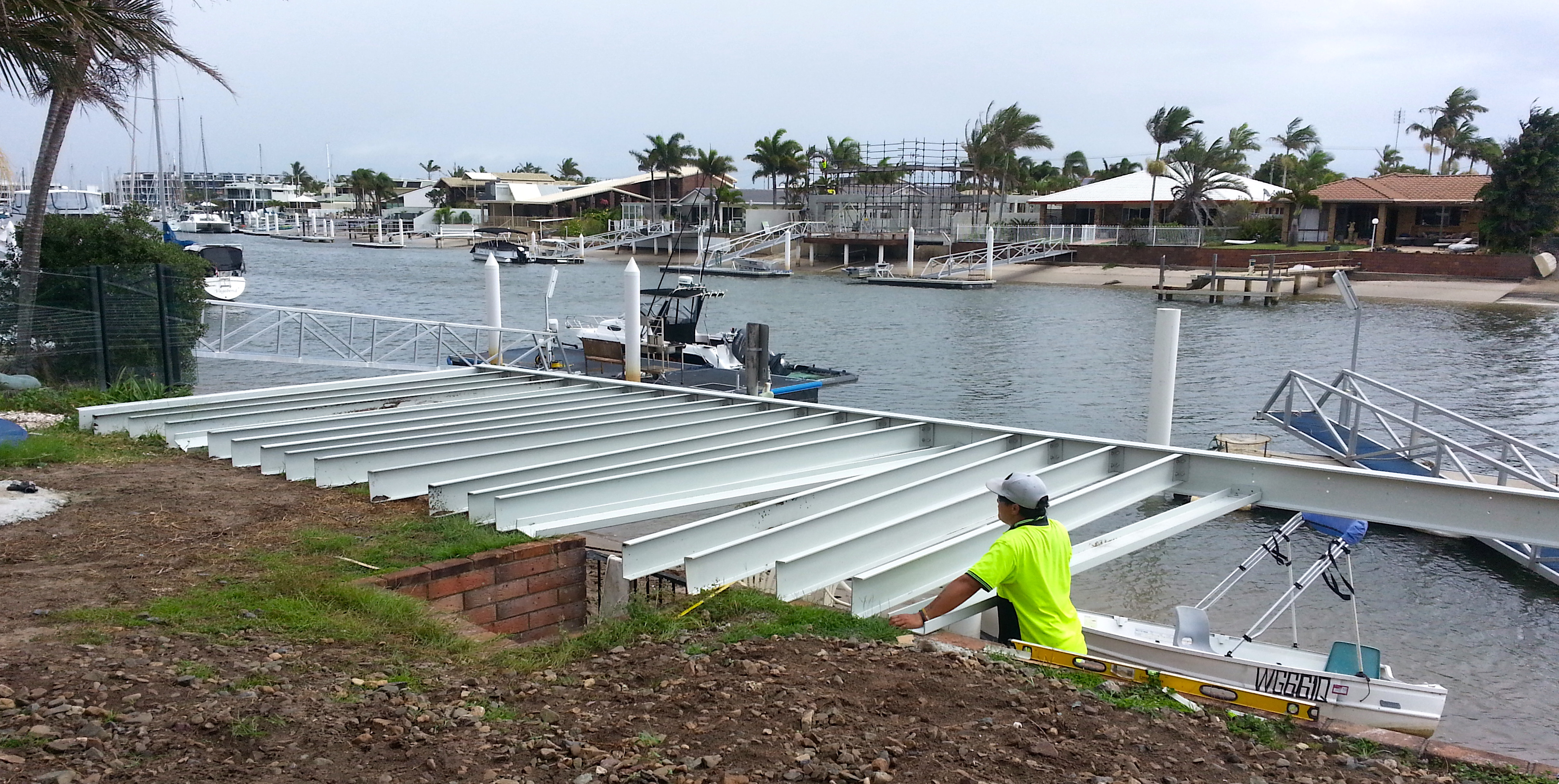 FRP Joists for Deck near salt water - 4 meter span
